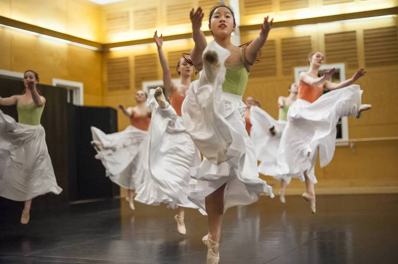 O Squared choreography Ruth Lewis