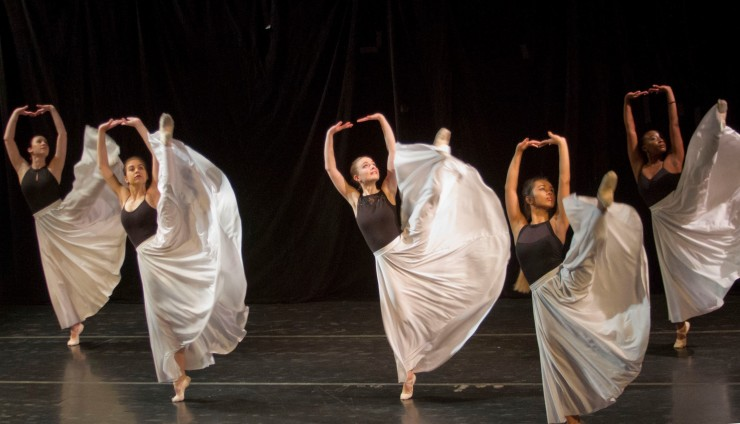 Dancers at Ted Hershey